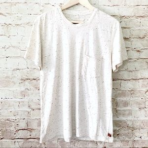 7 for all Mankind men's pocket tee shirt
